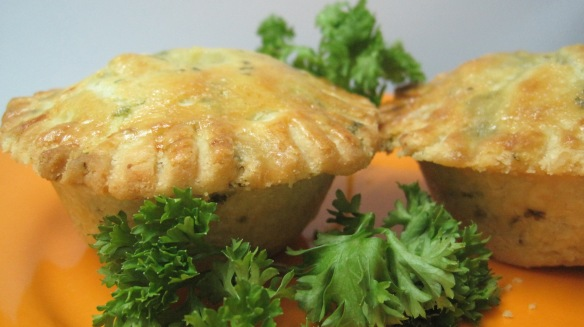 Chicken and Parsley Pies